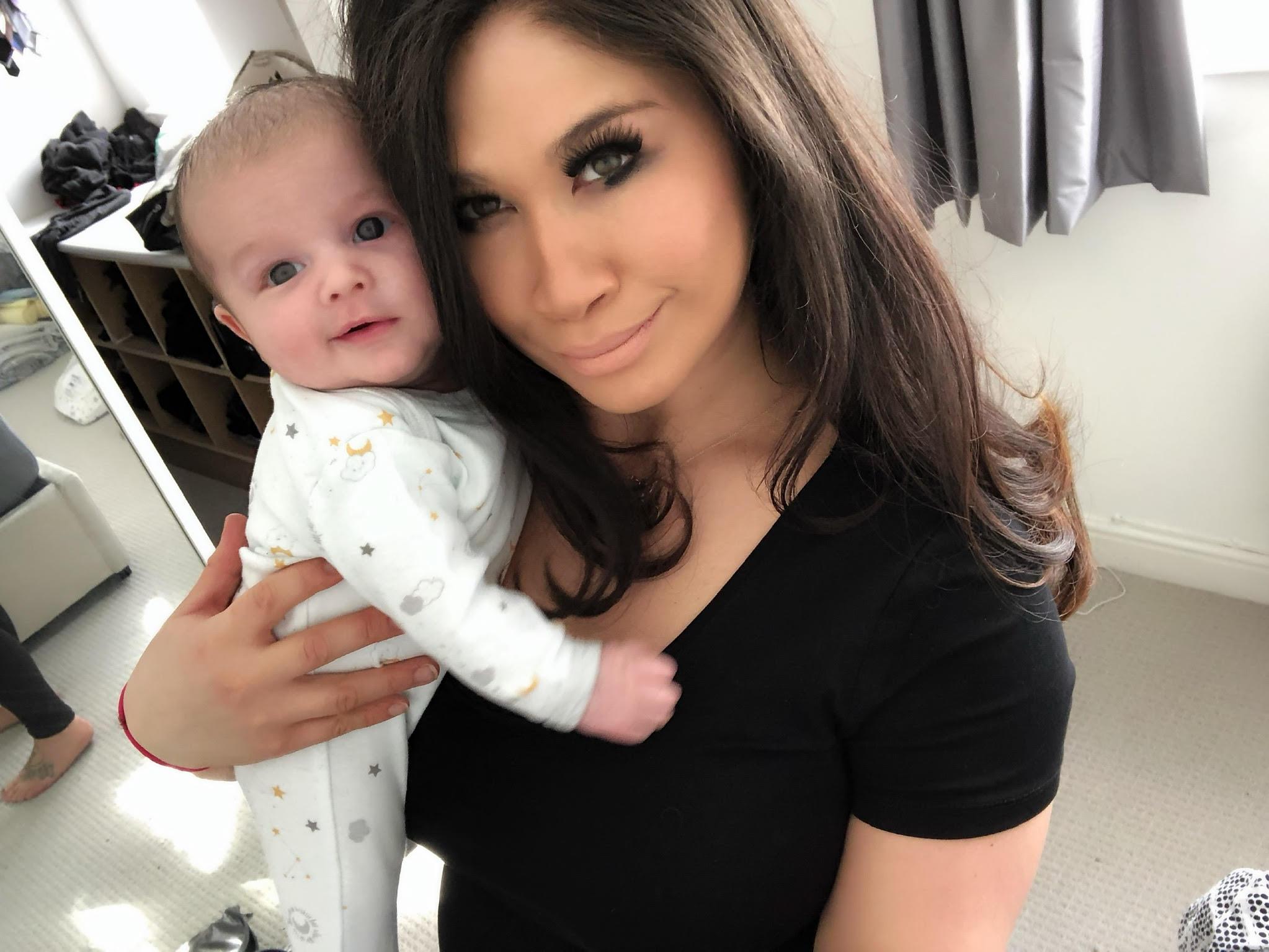 Christine & Baby Louis