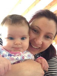 Michelle W & Baby elysia