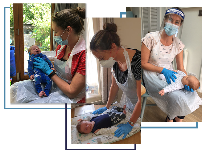Working with babies during covid wearing PPE – Birth, Baby & You – Dee Bell – Lactation Consultant for Kent, Surrey & Sussex