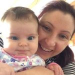 Michelle W and baby – Birth, Baby & You – Dee Bell – Lactation Consultant for Kent, Surrey & Sussex